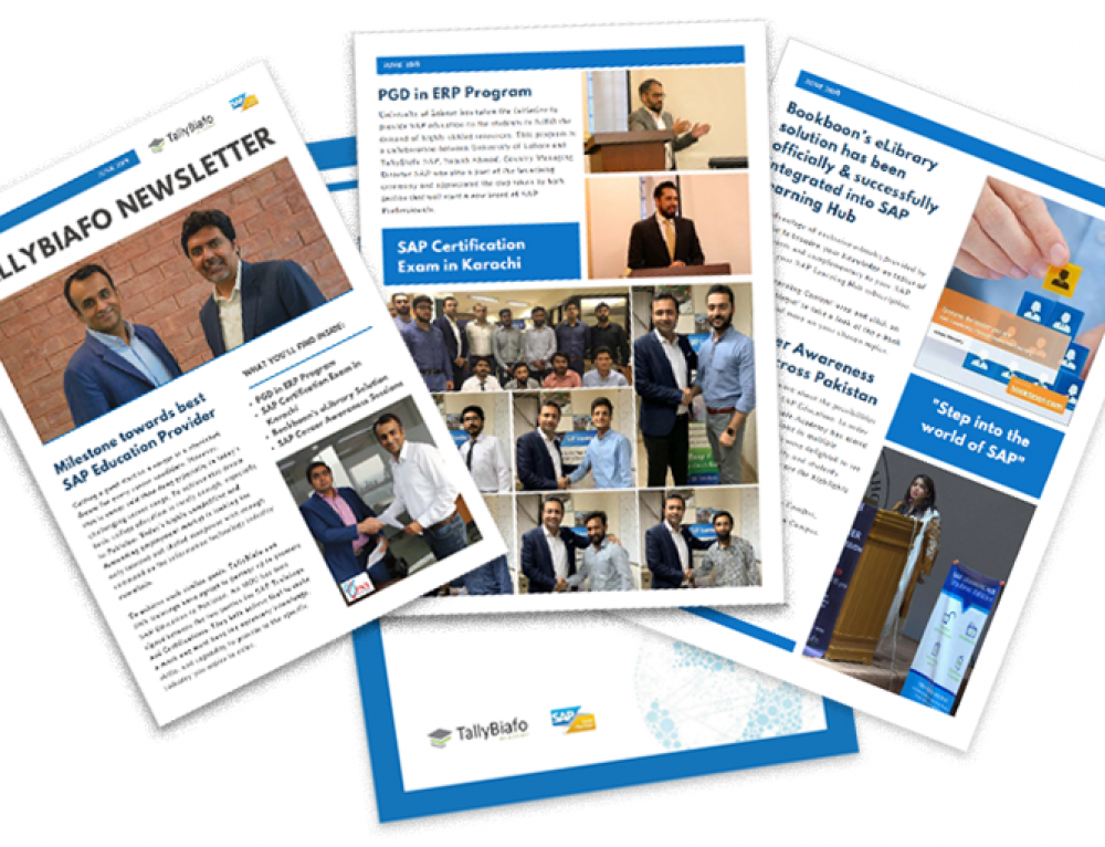 TallyBiafo SAP Academy Newsletter (January – June 2019)