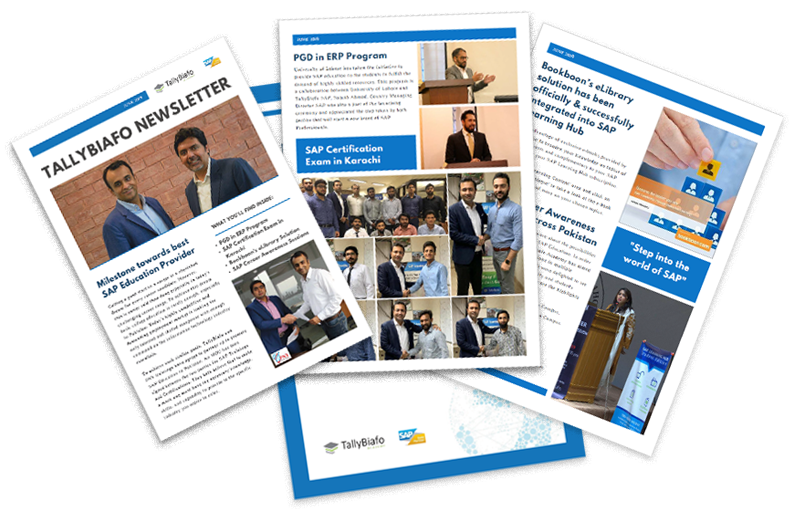 TallyBiafo SAP Academy Newsletter (January – June 2019)